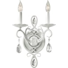 Chateau Blanc 2 Light Wall Sconce