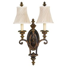 Drawing Room 2 Light Wall Sconce
