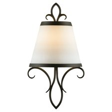 Peyton Saltspray Wall Light with Shade