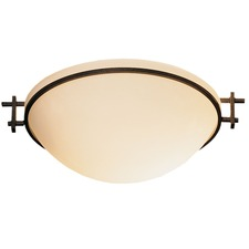 Moonband Bowl Semi Flush Mount
