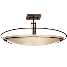 Mackintosh Oval Semi Flush Mount