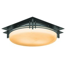 Banded Fluorescent Flush Mount