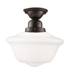 Edison Semi Flush Ceiling Light