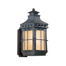 Dover Outdoor Plain CFL Wall Sconce
