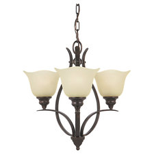 Morningside Uplight Single Tier Chandelier