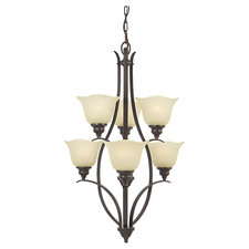 Morningside 6 Light Multi Tier Chandelier