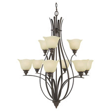 Morningside 9 Light Multi Tier Chandelier