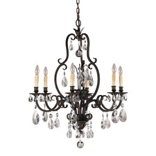 Salon Maison Single Tier Chandelier