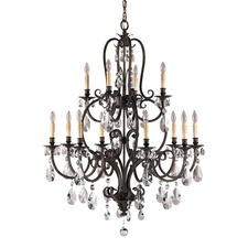 Salon Maison Multi Tier Chandelier