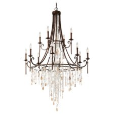 Cascade Multi Tier Chandelier
