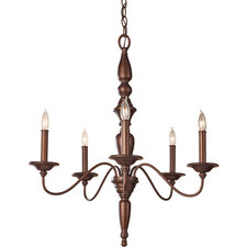 Yorktown Heights Single Tier Chandelier