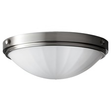 Perry Flush Mount Brushed Steel