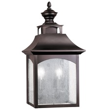 Homestead 2 Light Outdoor Wall Sconce