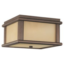 Mission Lodge Outdoor Flush Mount