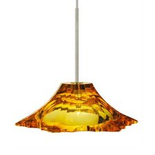 EZ Jack LED Peak Crystal Pendant