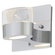 Europa Chrome Bathroom Vanity Light