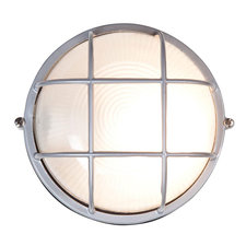 Nauticus Round Outdoor Bulkhead Wall Light