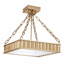Middlebury Square Semi Flush Ceiling Light