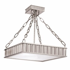 Middlebury Square Semi Flush Mount