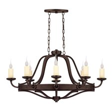 Elba Oval Chandelier