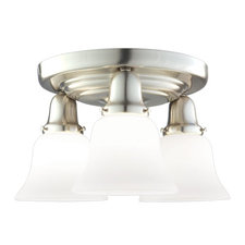 Edison 341 Semi Flush Ceiling Light