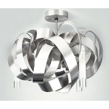 Montone Semi Flush Mount