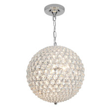 Kristal Crystal Ball Chain Pendant