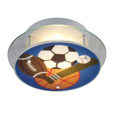 Sports Novelty Ceiling Semi-Flush Mount
