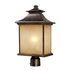 San Gabriel Outdoor Post Light