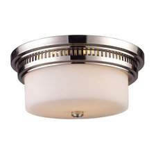 Chadwick Glass Ceiling Flush Mount