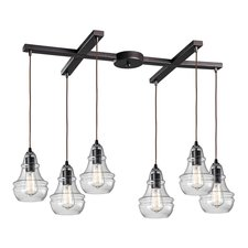 Menlow Park 60047-6 6-Light Pendant