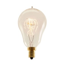Nostalgic A15 E12 Antique Loop Bulb 25W 120V