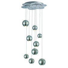 Bollero Nine Light Multi Pendant