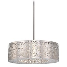 Hidden Gems LED Round Chandelier