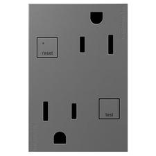 Tamper Resistant GFCI 15 Amp 3-Module Outlet