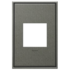 Brushed Pewter Wall Plate