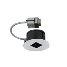QCT905 4 Inch Square Trimless Remodel Housing