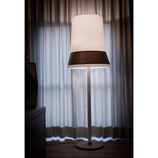 Audrey Floor Lamp Brown Finish