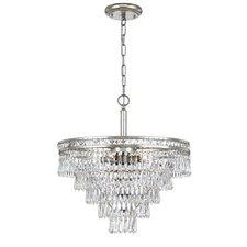 Mercer 6 Light Semi Flush Mount / Chandelier