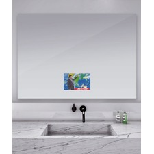 Loft Spectrum Mirror with 21.5 inch TV