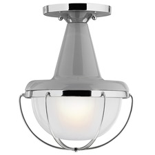 Livingston Outdoor Semi Flush Mount
