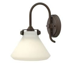 Congress Flat Bottom Wall Light