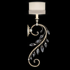 Crystal Laurel Wall Sconce