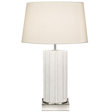 White Marble 210 Table Lamp