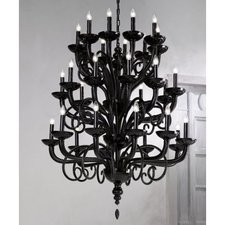 6011/K 36 Light Chandelier
