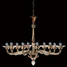 7086/K 10 Light Chandelier