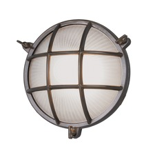Mariner Round Outdoor Wall Sconce