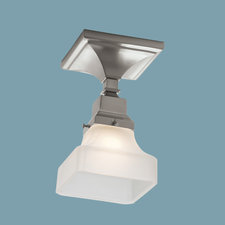 Birmingham Pyramid Semi Flush Mount