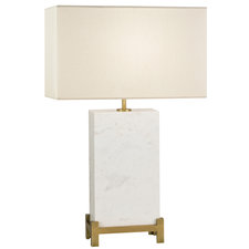 White Marble 410 Table Lamp