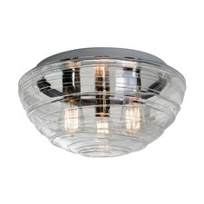 Wave Flush Mount Ceiling Edison